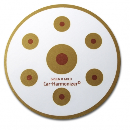 Green 8 Gold Car Harmoniser