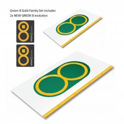 Green 8 Gold Family Set