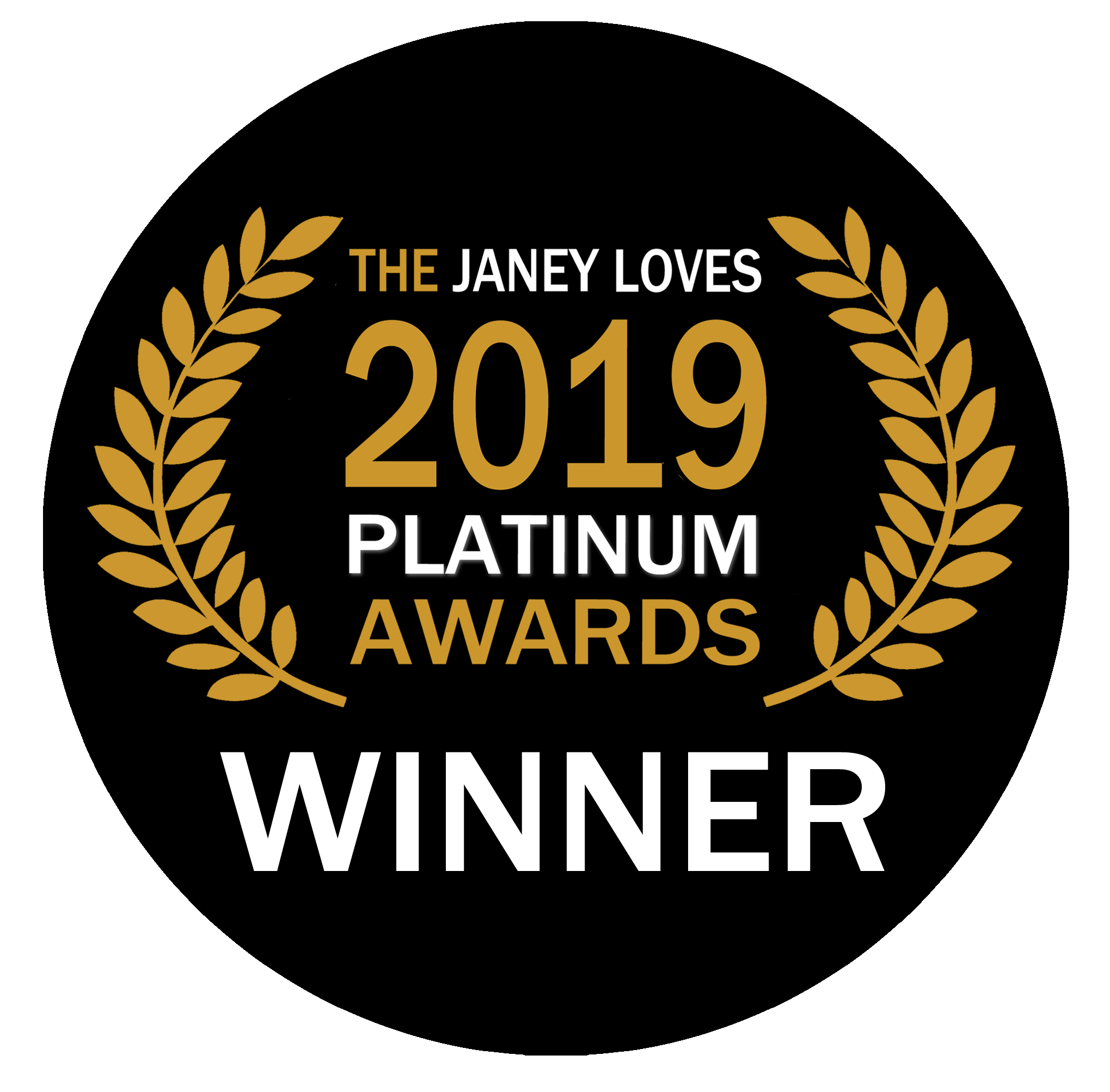 Janey Loves Platinum 2019 Award Best EMF Home Protection
