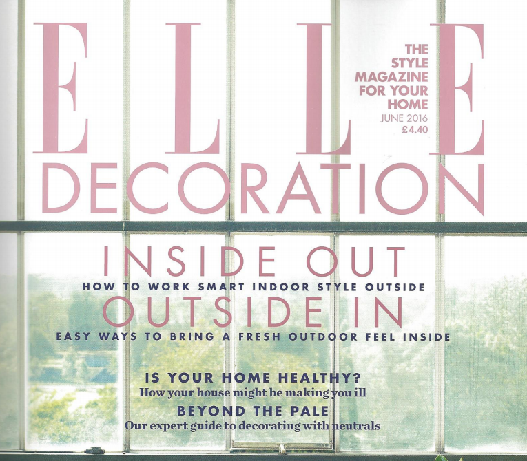 Is Your Home Healthy? Elle Decoration Magazine June 2016